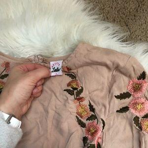 selfie leslie Dresses - Selfie Leslie Boutique Embroidered Floral Dress
